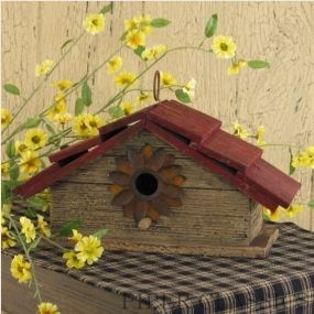 The site this unique bird house came from does not sell this one anymore. But the site is loverly! SO many ideas for a country home. Piper's Classics