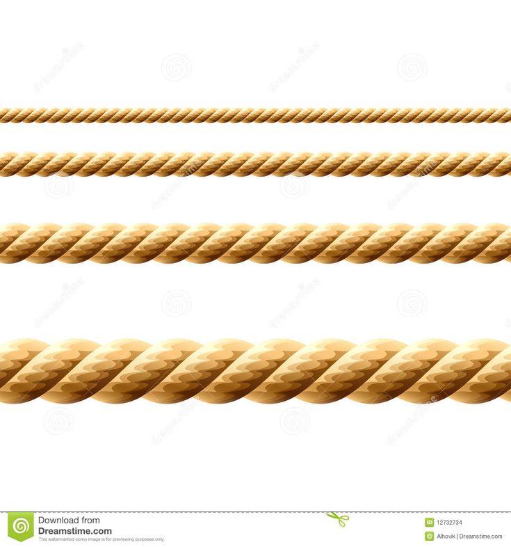 Corde. Vecteur sans joint. illustration de vecteur. Image du fibred - 12732734