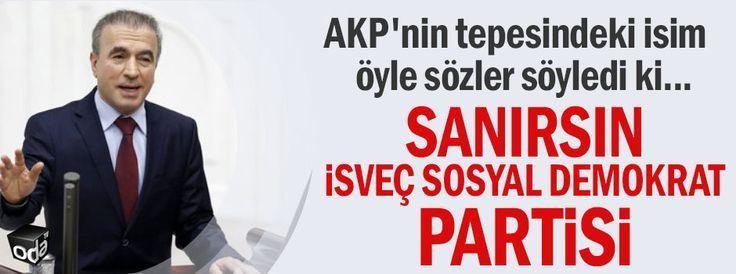 Sanırsın İsveç sosyal demokrat partisi