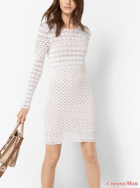 Элегантная простота от Kors. Платье ( туника) крючком