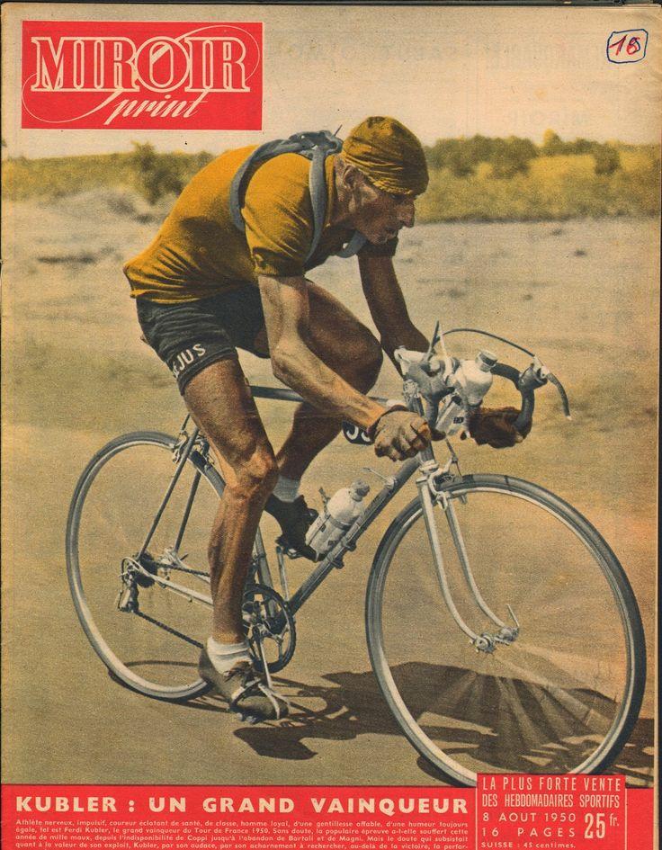 Tour de France 1950. Ferdi Kübler (1919) [Miroir Sprint] (www.cyclingpassions.eu)