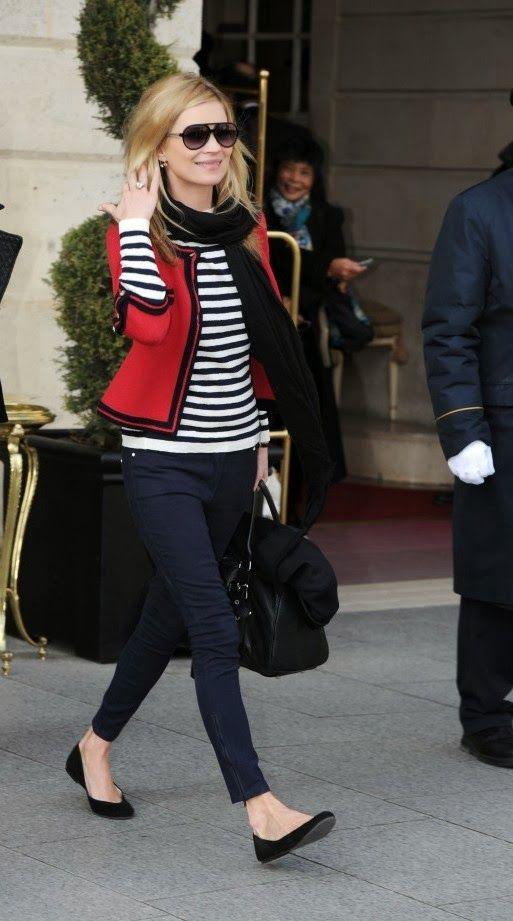 Kate Moss Stripes