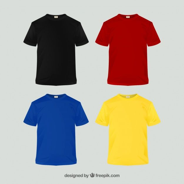 Download 2d T Shirt Collection In Different Color Free Vector Freepik Freevector Freedesign Freefashion Freeman F Bape T Shirt Shirt Designs Baby Girl Shirts