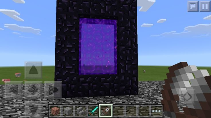 how to make end portal in minecraft pe