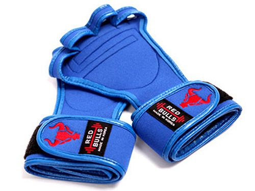 workout gloves-blue