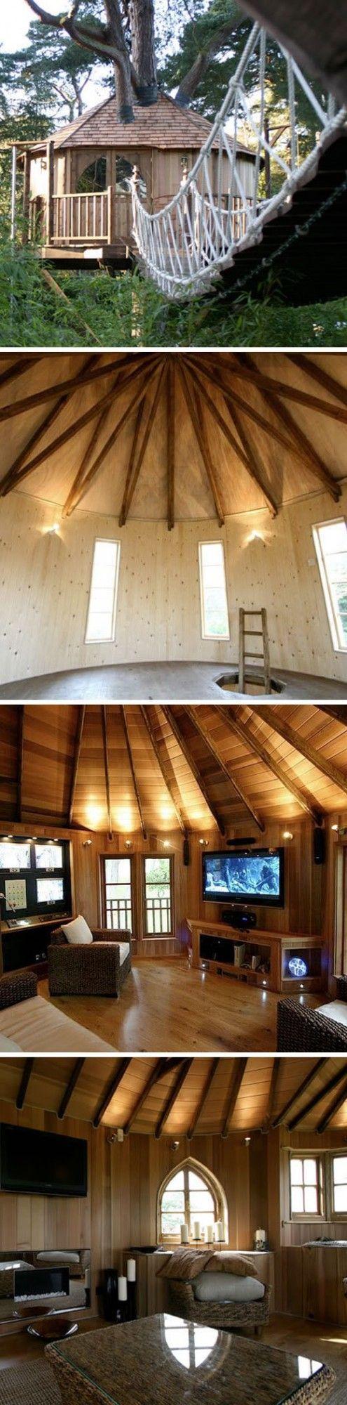 Best 25+ Tree house decor ideas on Pinterest | Tree house bedrooms ...