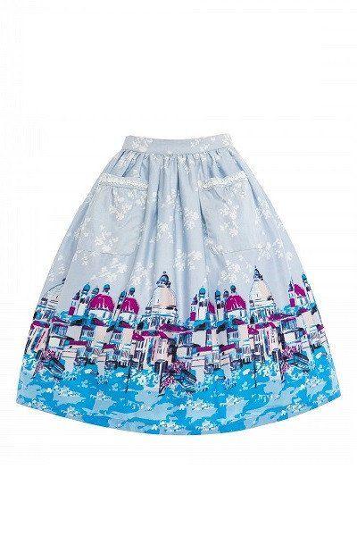 Lindy Bop Contessa Venice Skirt