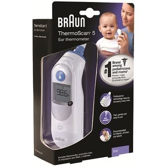 Buy Braun ThermoScan 5 Ear Thermometer online at Lazada Singapore. Discount prices and promotional sale on all Thermometers. Free Shipping.