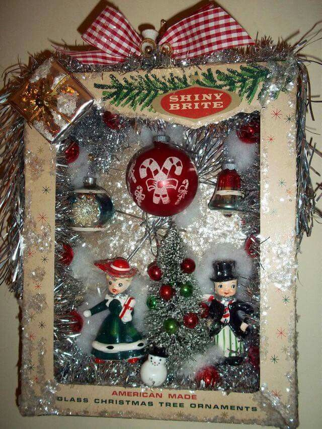 79 Best Christmas Shadow Boxes Images On Pinterest