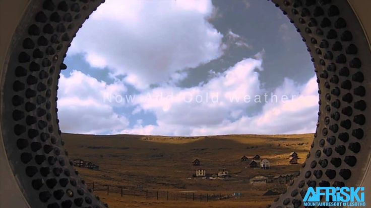 Getting ready for the 2014 skiing season at Afriski Mountain Resort in Lesotho. Watch this dramatic snowmaking video.