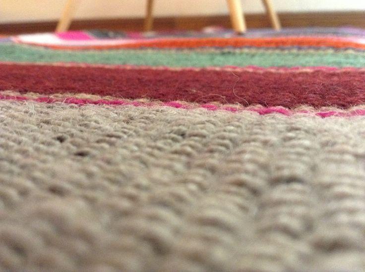 alfombras tejidas a mano