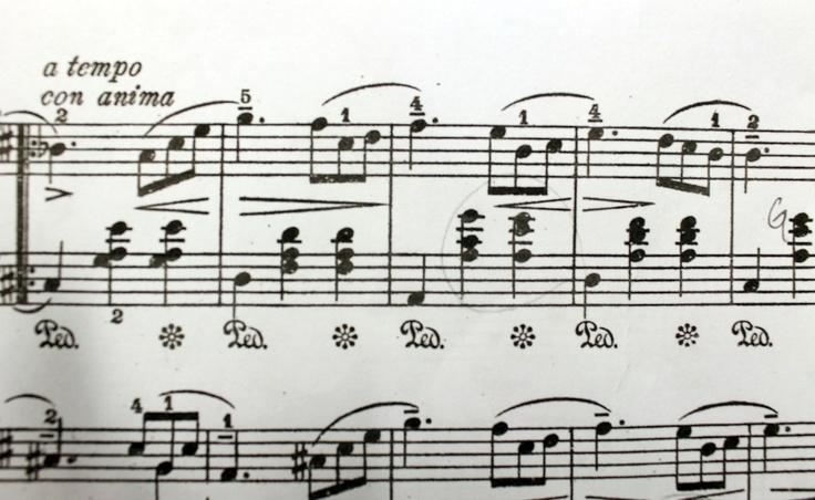 Piano notes c: