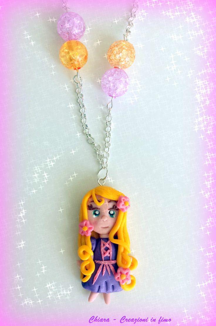 Rapunzel #fimo #polymerclay