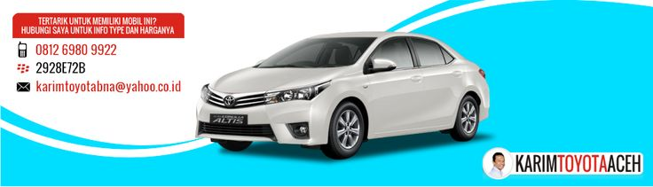 All New Corolla Altis | KARIMTOYOTAACEH