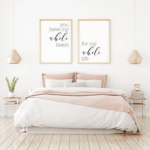 bedroom wall decor ideas, home decor wall art, master