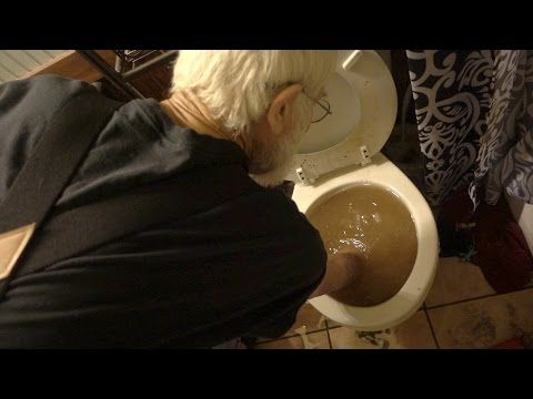 ANGRY GRANDPA EATS OUT OF THE TOILET!! (VOMIT ALERT) - YouTube