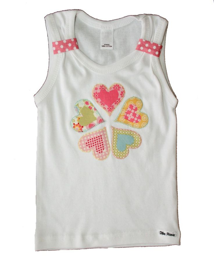 Camiseta de corazones