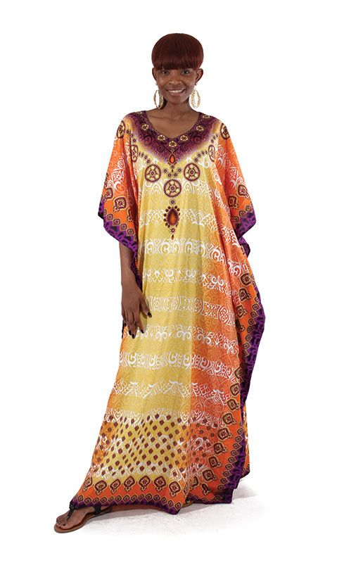 African Queen Kaftan (Gold only) - Beez Afrocentric Clothing & Accessories, Inc.