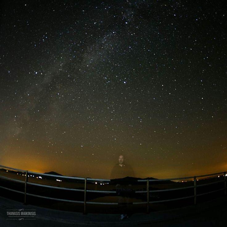 #pttlgr #photocontestgr #instalifo #amazing #travel_greece #instatravel #instago #love #autohash #pefki #Greece #astronomy #space #galaxy #sky  #observatory #dark #exploration #constellation #light #starry #evening #winter #Orion #selfie #science #milkyway