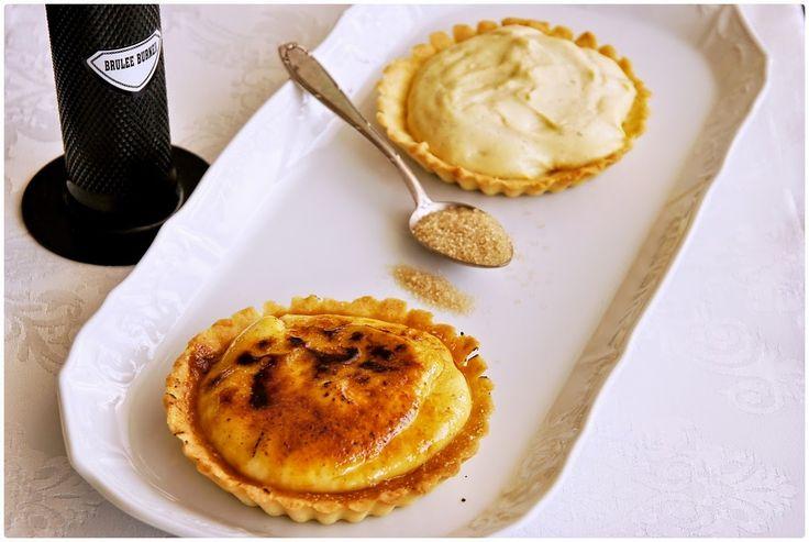 Pradobroty: Tartaletky s crème brûlée