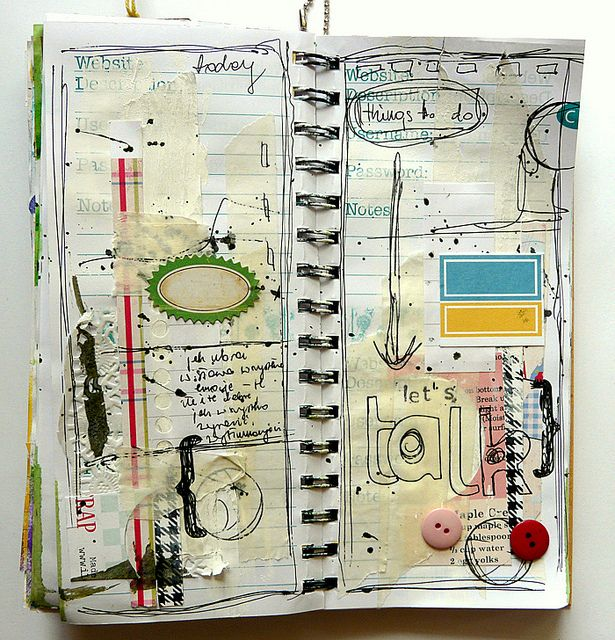 journalCollage Sketches, Inspiration, Art Journals Smash, Paper Book Art, Journals Pages, Mixed Media, Notebooks Sketches, Journals Sketchbooks Work, Artists Sketchbooks