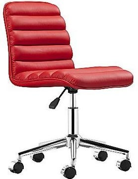 jcpenney Zuo Admire Red Office Chair