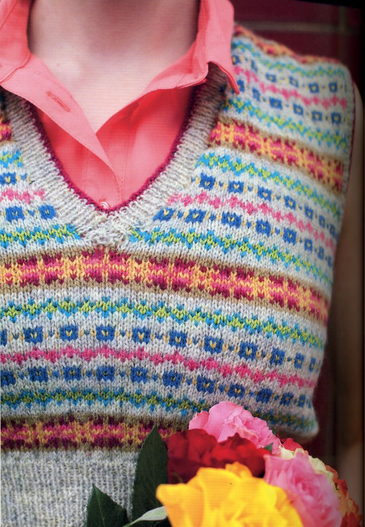 402 best Knitting Dreams - Fair Isle & Gingham images on Pinterest ...