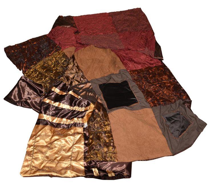Bruin-goud foulard van AtelierMD.nl