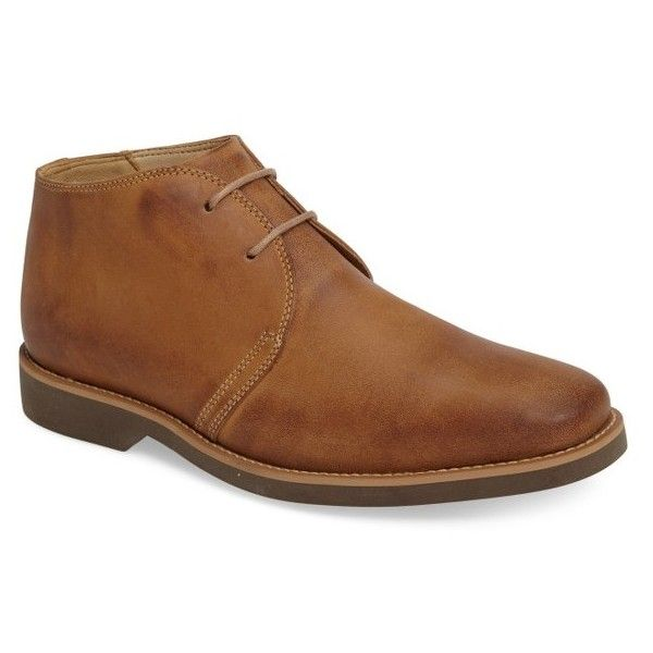 Men's Anatomic & Co 'Colorado' Chukka Boot (585 BRL) ❤ liked on Polyvore featuring men's fashion, men's shoes, men's boots, castor leather, mens leather shoes, mens shoes, mens chukka shoes, mens shoes chukka boots and mens leather chukka boots