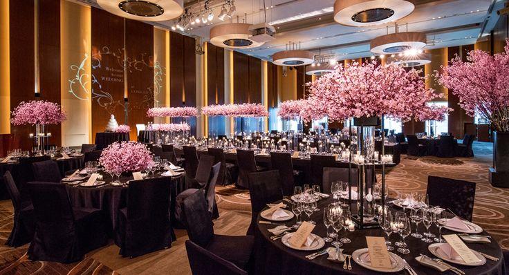 【公式HP】披露宴会場 | コンラッド東京(汐留) | 結婚式・結婚式場・ブライダルはヒルトンウエディング