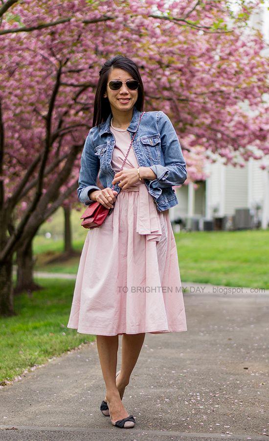 midi dress with flats