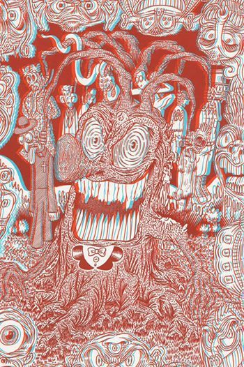 The new issue of Raw Vision features the powerful 3D serigraphs of Le Dernier Cri. Don't miss this very special issue which comes with a free 3D viewer! http://rawvision.com/articles/dizzy-audacious-loud-le-dernier-cri