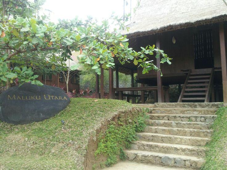 Maluku utara traditional  house