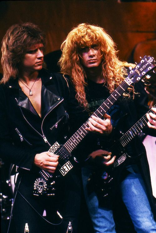CHRIS POLAND y DAVE MUSTAINE