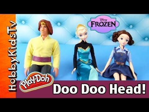 HobbyKidsTV presents a look into Disney Frozen Queen Elsa's new salon!! Elsa decides to open a salon and guess who her first client is?! Dorothy from Legends of Oz! She gets her nails done and an updo! Kristoff decides to get his hair colored for Princess Anna but do you think it will look ok? Watch to find out!! HobbyKidsTV is proud to be in the Top 5% on Google Preferred Family & Children's YouTube Channels Lineup! This video created by: http://www.HobbyKidsTV.com #hobbykidstvTOYS
