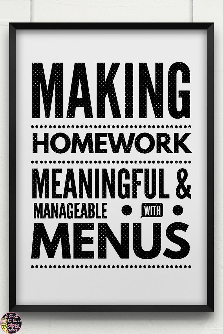 Ready to try something new for homework? This post includes Information about homework research and ideas on how to use homework menus to differentiate homework in the elementary classroom.