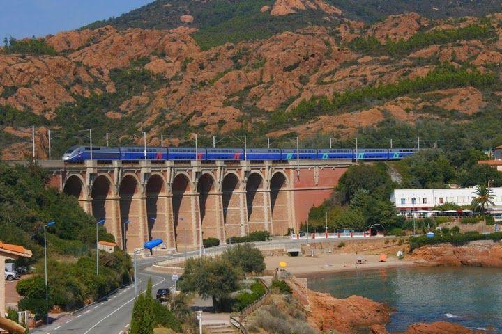 Velkommen til Espens togsider: Med tog til den franske Riviera