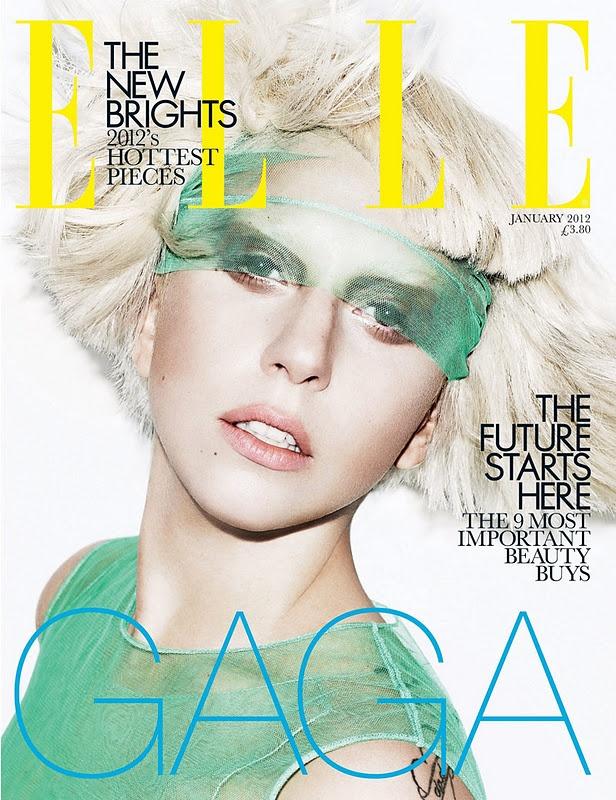 : January 2012, Make Magazines, Lady Gaga, Tional Uk, Elle Covers, Mothers Monsters, Gaga Elle, Magazines Covers