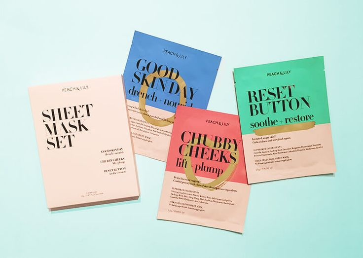 This set of three sheet masks are designed to target specific skincare needs from lifting and plumping to soothing and restoring.