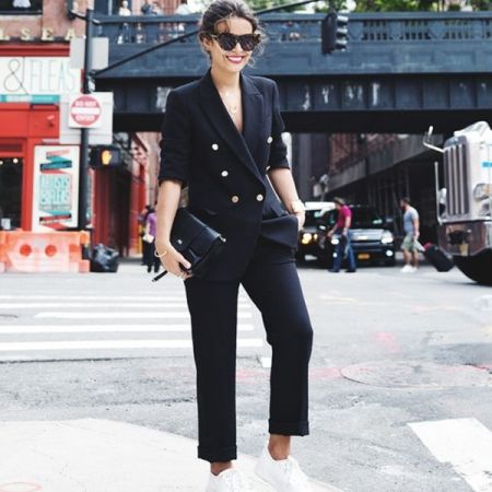 How To Make Your Trouser Suit Cool | sheerluxe.com