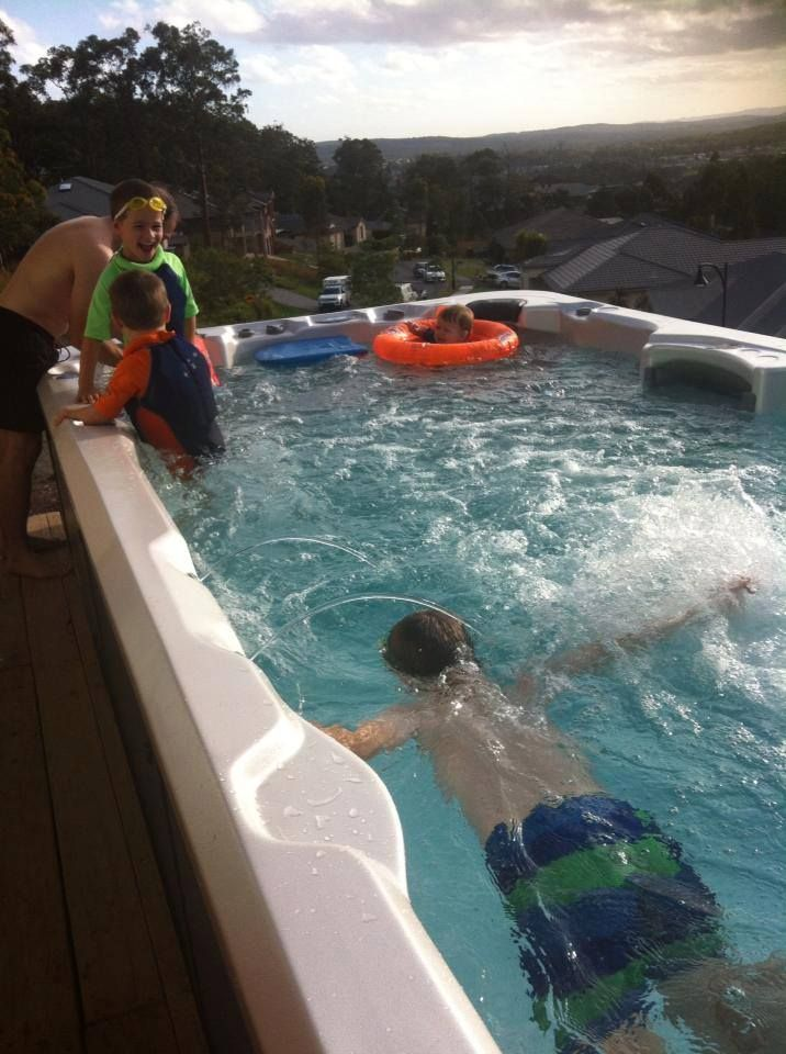 63 Best Swim Spas Images On Pinterest