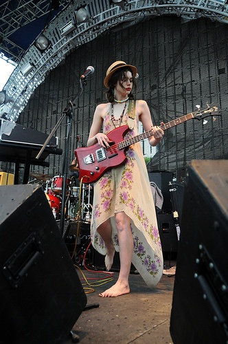 Charlotte Kemp Muhl of The GOASTT #Chimera #barefoot #electric
