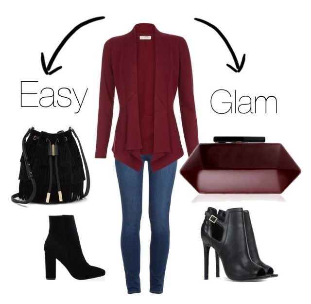 Easy or Glam? by stefania-fornoni on Polyvore featuring polyvore, fashion, style, Monsoon, Paige Denim, Vince Camuto and Lipsy