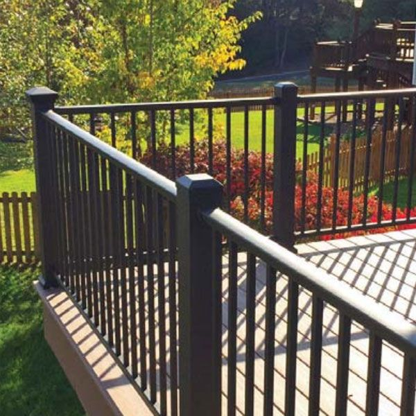 Prestige Aluminum Level Rail Kit Deck Railings Patio Railing Aluminum Railing Deck