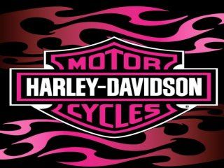 Harley Davidson Wallpapers and Screensavers | 320X240 flamin harley pink 320x240 free wallpaper screensaver download ...