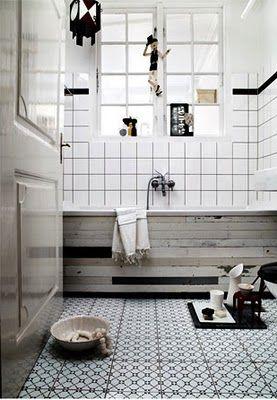 //: Bathroom Design, White Tile, Bathroom Inspiration, Bathroom Interiors, Cool Bathroom, Floors Tile, Bathroom Idea, White Bathroom, Design Blog