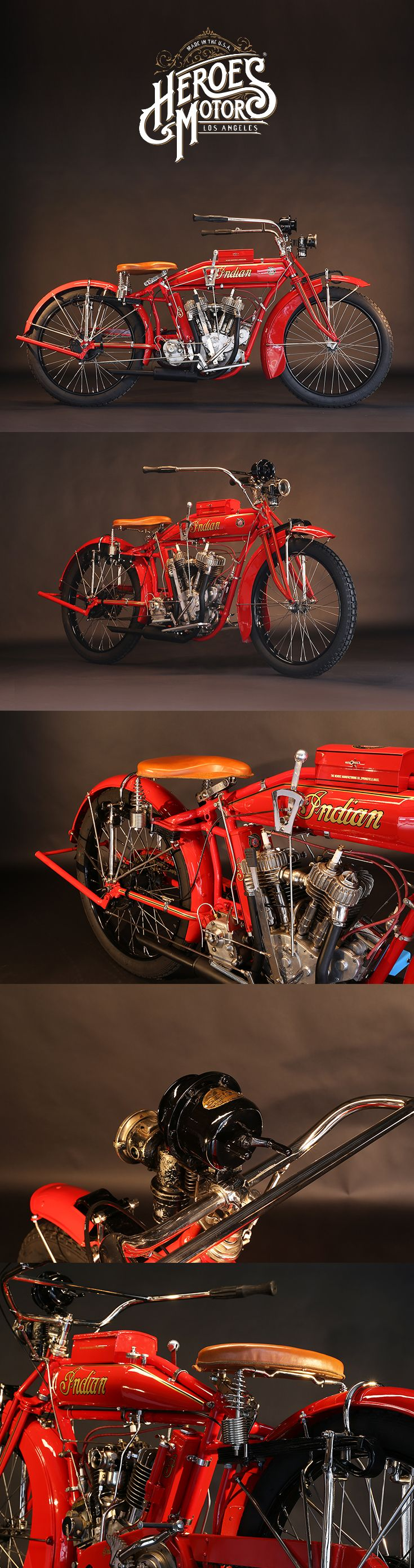1916 INDIAN 1000cc POWER PLUS