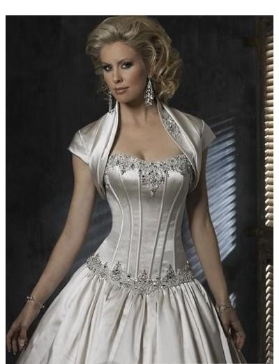 Not a wedding gown. Just want the corset