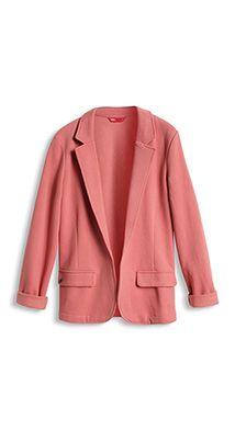vintage roze blazer
