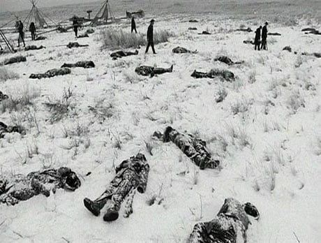Wounded Knee Massacre, 1890.